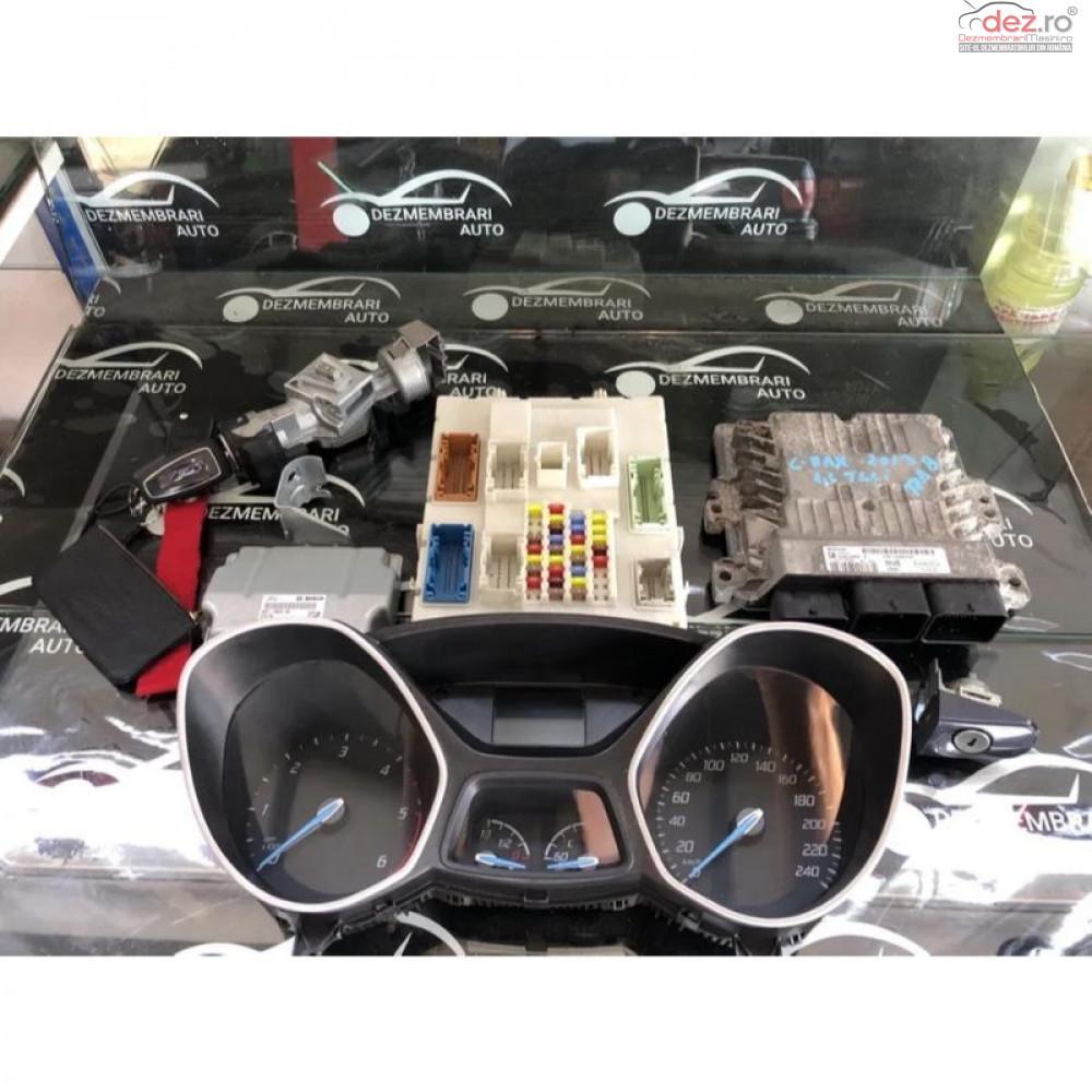 Kit Pornire Ecu Ceasuri Bord Cheie Modul Confort Ford Grand C Max cod AV61-12A650-ADE/BM5T-10849-CU/BV6N-14A073-ET Piese auto în Sebes, Alba Dezmembrari