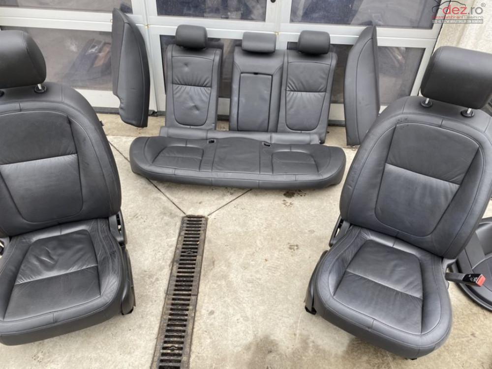 Scaune Interior Piele Neagra Electrice Incalzite Memorie Jaguar Xf Piese auto în Sebes, Alba Dezmembrari