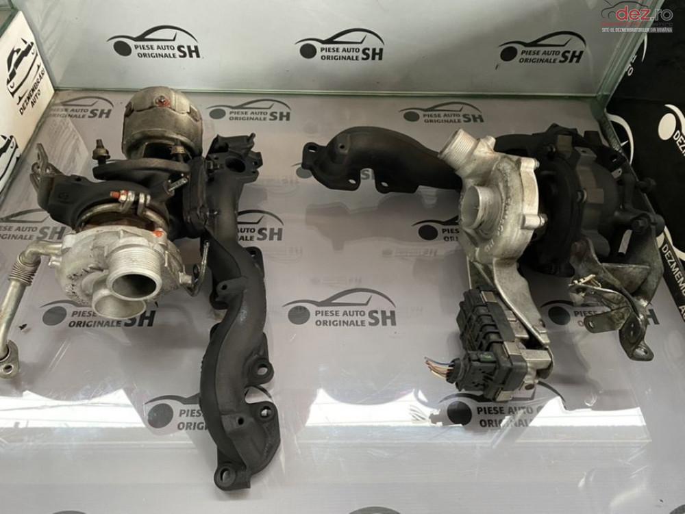 Turbo Turbina Turbosuflanta Jaguar Xf 3 0 V6 Biturbo 306dt Land Rover cod 778400/AX2Q-6X682-CA/778402/AX2Q-6K682-BC Piese auto în Sebes, Alba Dezmembrari