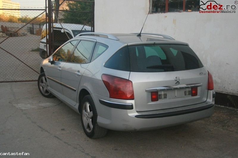 Dezmembrez Peugeot  407  Sw 1 6 Hdi Din 2006    Usa Stanga Spate  Dezmembrări auto în Baia Mare, Maramures Dezmembrari