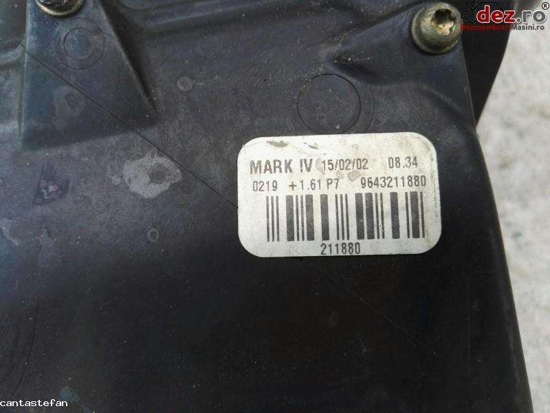 Termostat apa Peugeot 307 2003 cod 9643211880