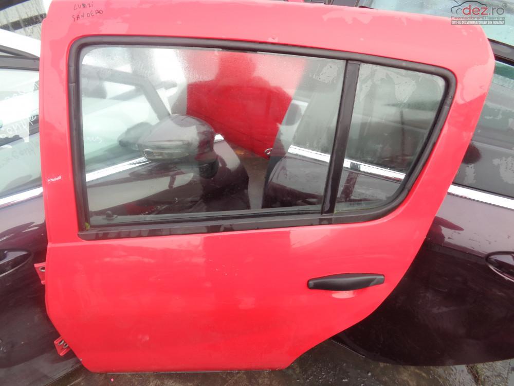 Vand Usi Spate Dreapta Stanga Dacia Sandero 2009 2013 cod 1234 Piese auto în Sarmasag, Salaj Dezmembrari