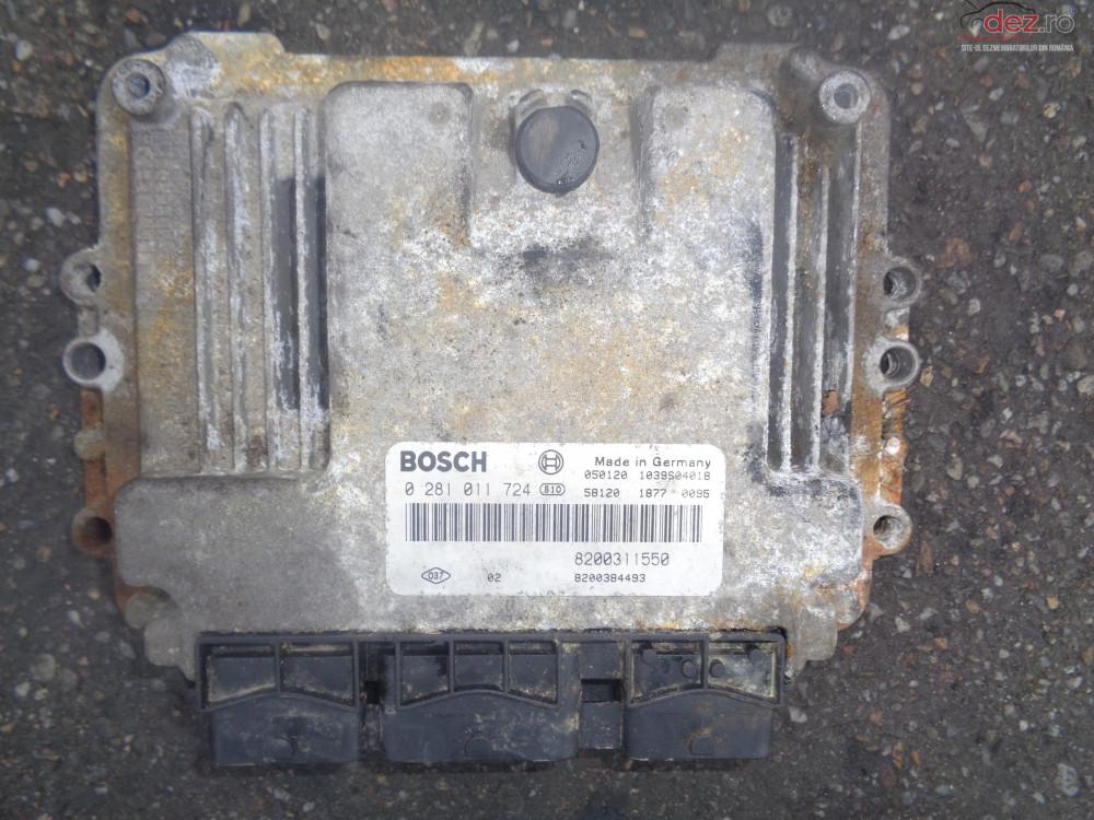 Vand Ecu Calculator Motor Renault Espace4 cod 0281011724 Piese auto în Sarmasag, Salaj Dezmembrari