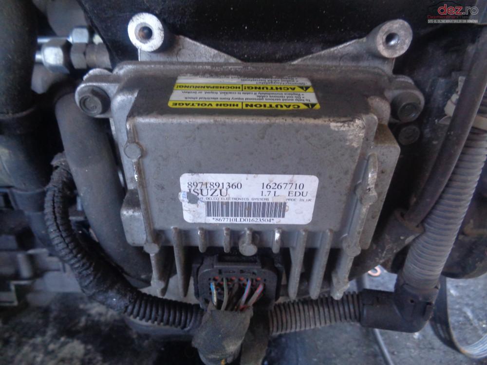 Vand Calculator Pompa Injectie Opel Astra G 1 7 Dti Din 2004 cod 8971891360 Piese auto în Sarmasag, Salaj Dezmembrari