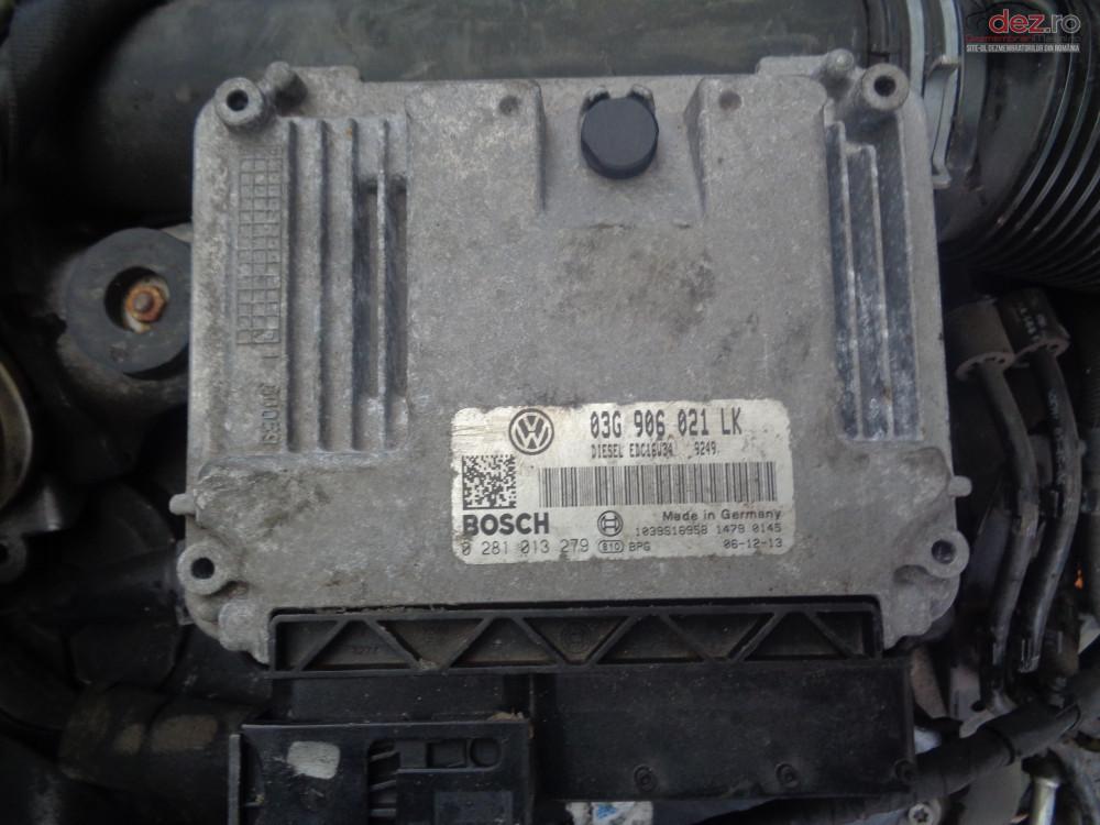 Vand Calculator Motor Ecu Volkswagen Golf5 1 9 Tdi 105cp Bxe cod 03g906021 Piese auto în Sarmasag, Salaj Dezmembrari