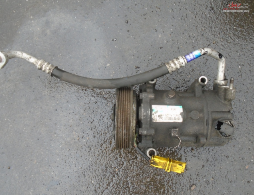Vand Clima Compresor Peugeot 207 1 6 Hdi 90cp Euro5 Din 2012 Piese auto în Sarmasag, Salaj Dezmembrari