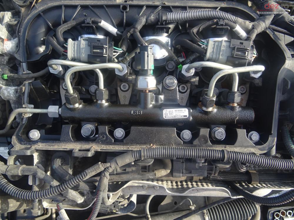 Vand Rampa Injectoare Peugeot Expert 2 0 Hdi 163cp Euro5 Din 2014 Piese auto în Sarmasag, Salaj Dezmembrari