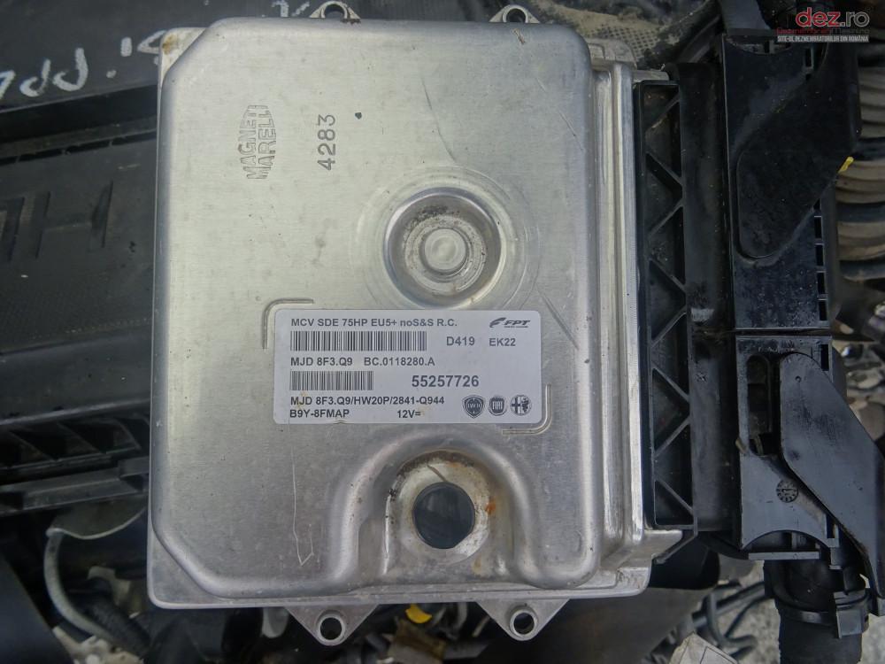 Vand Calculator Motor Ecu Fiat Doblo 1 3 Cdti Euro5 Din 2012 Euro5 cod 55257726 Piese auto în Sarmasag, Salaj Dezmembrari