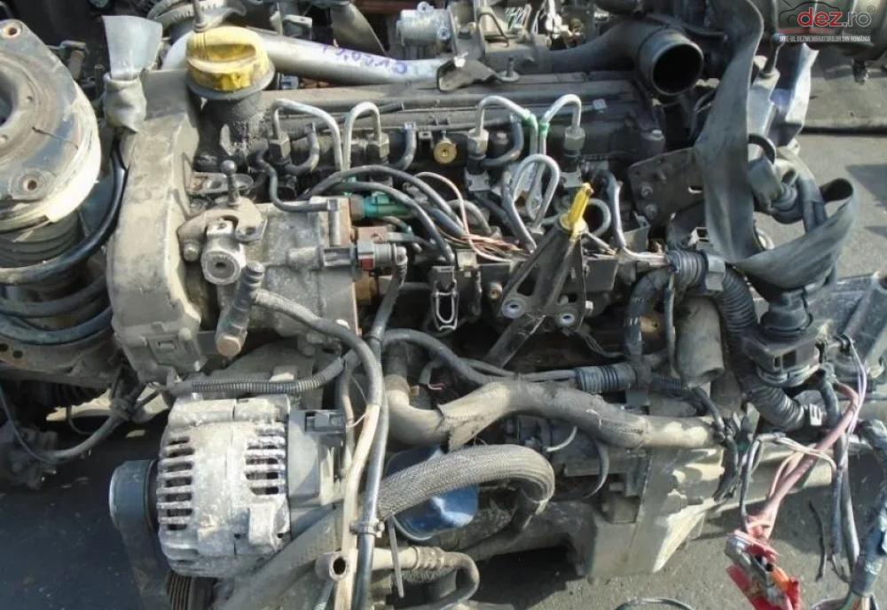 Vand Motor Dacia Sandero 1 5 Dci Euro4 Din 2008 Fara Anexe Piese auto în Sarmasag, Salaj Dezmembrari