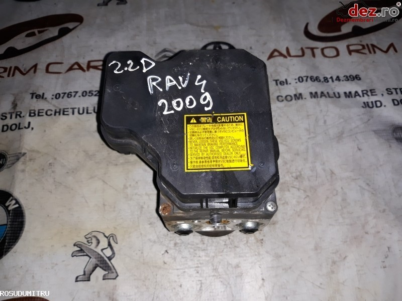 Pompa ABS Toyota RAV 4 2009 cod 44510-42100  39541-42220   133800-7970 Piese auto în Malu Mare, Dolj Dezmembrari