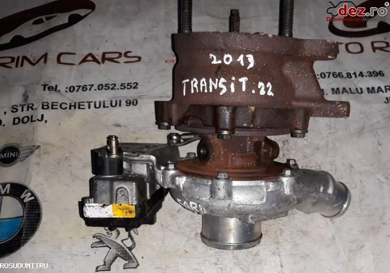 Turbina Ford Transit 2013 cod BK2Q6K682GA 7873122 Piese auto în Malu Mare, Dolj Dezmembrari