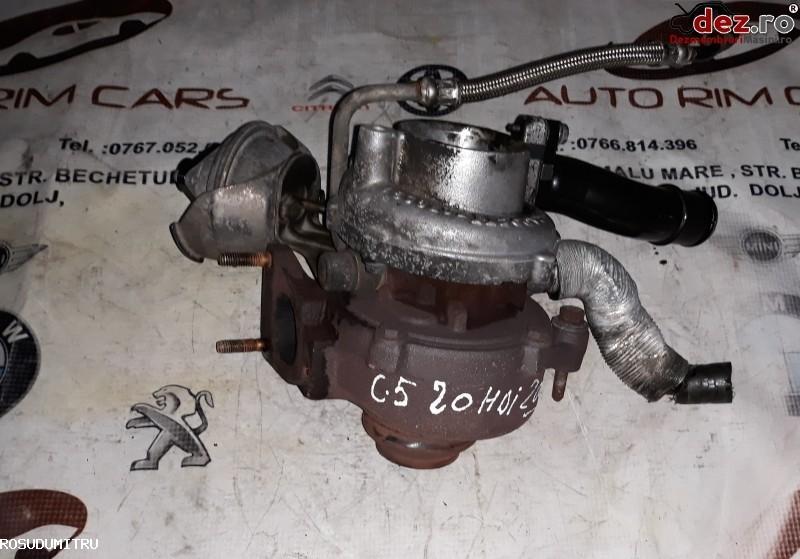 Turbina Citroen C5 2009 cod 9682778680 Piese auto în Malu Mare, Dolj Dezmembrari