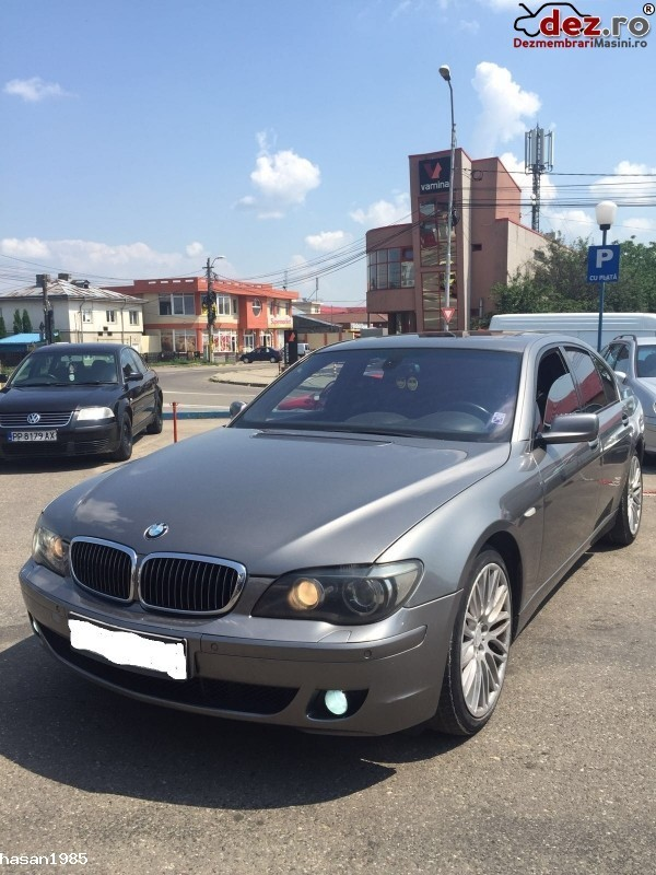 Dezmembrez Bmw 760 E65 Facelift Dezmembrări auto în Bacau, Bacau Dezmembrari