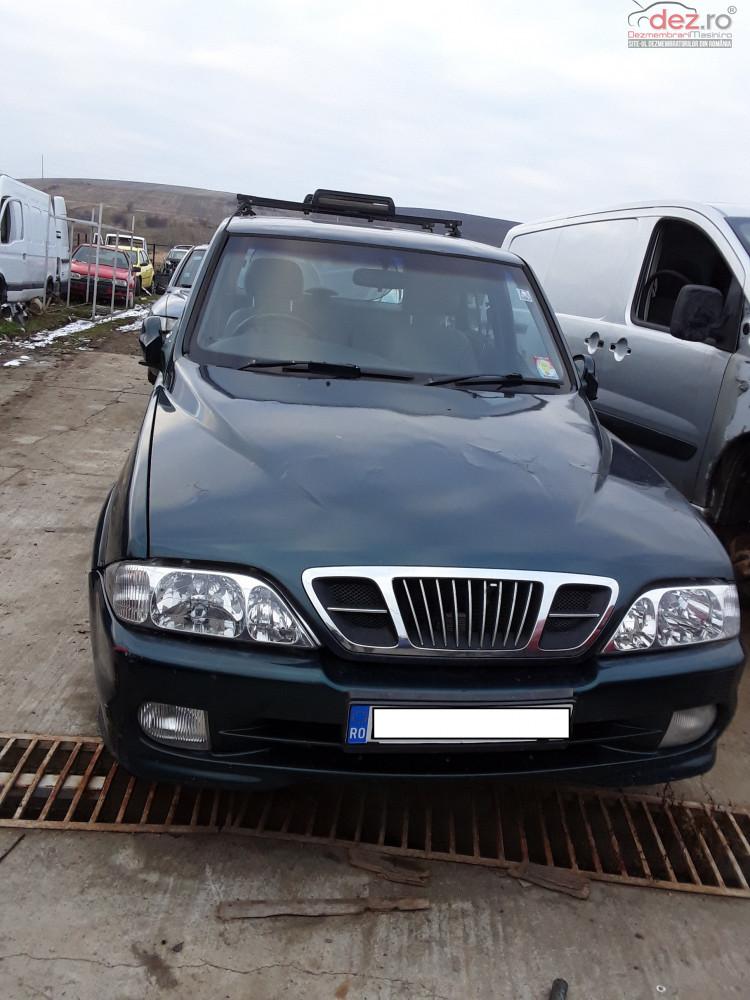 Dezmembrez Ssangyong Musso 1999 1 8 Benzina 89kw Dezmembrări auto în Ardeoani, Bacau Dezmembrari