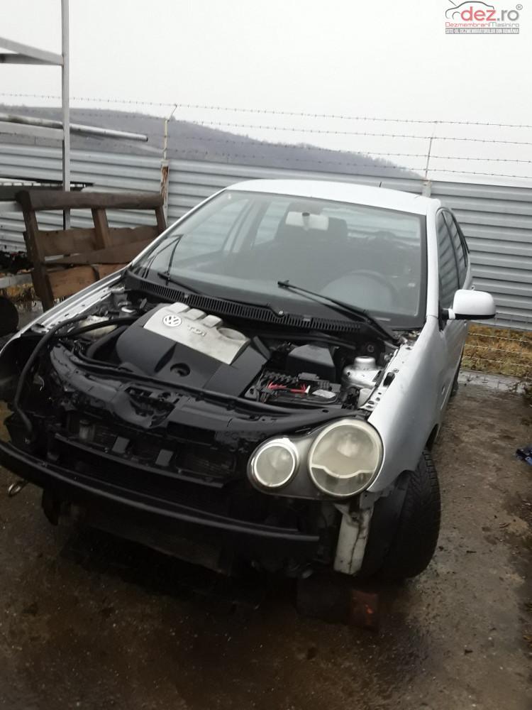 Dezmembrez Volkswagen Polo 2004 1 4tdi 75cp (55kw) Dezmembrări auto în Ardeoani, Bacau Dezmembrari