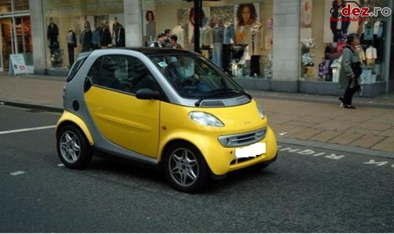 Volanta smart for two 0 6 benzina  599 cmc  33 kw  44 cp an 2000  Dezmembrări auto în Pitesti, Arges Dezmembrari