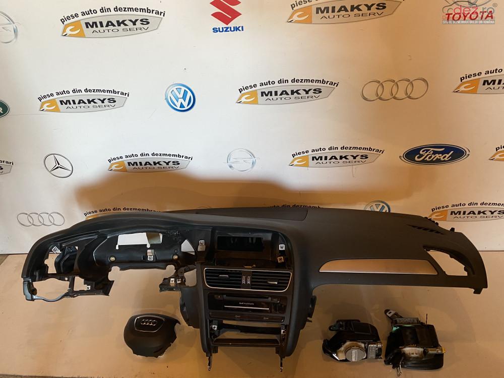 Plansa Bord+set Airbag Uri Audi A4 B8 Face Lift în Bucuresti, Bucuresti Dezmembrari
