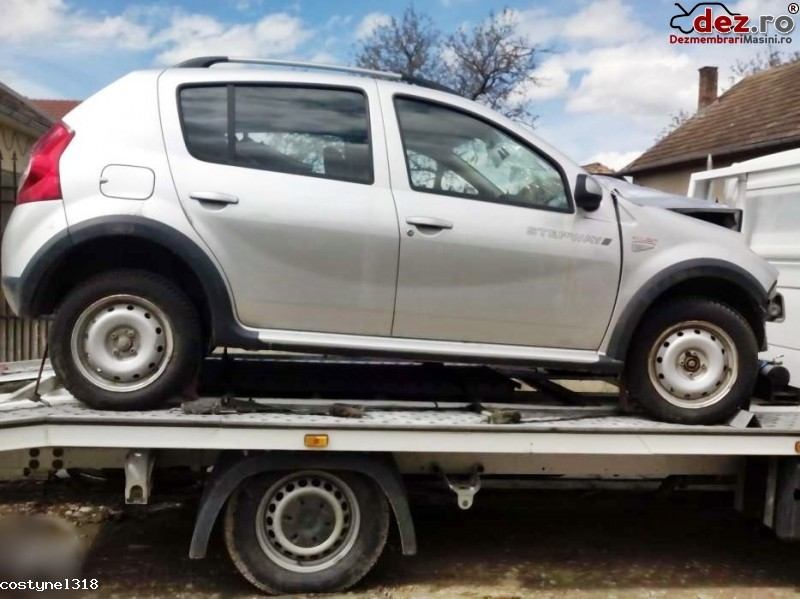 Dezmembrez Dacia Sandero Stepway 1  5 Dci Euro5 An 2012 Orice Pie  Dezmembrări auto în Bucuresti, Bucuresti Dezmembrari