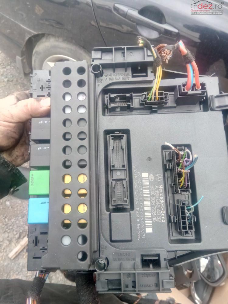 Calculator Comfort Producator  Mercedes  Benz Model  A  Class (w169) 200  Piese auto în Snagov, Ilfov Dezmembrari