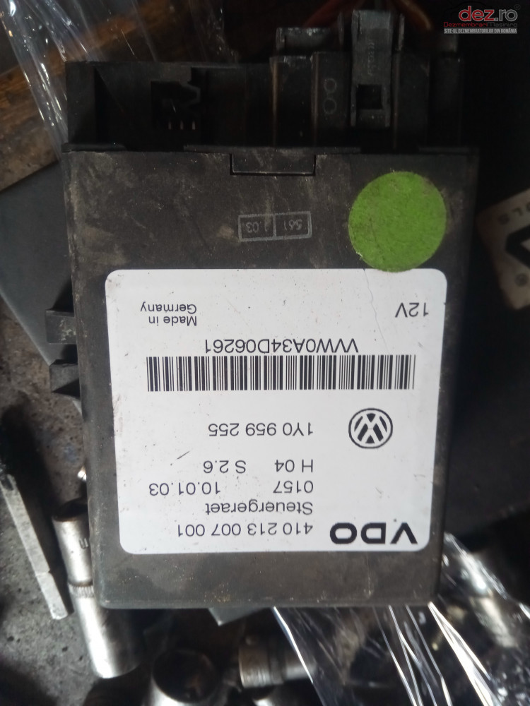 Calculator Ecu Decapotare Soft Top Vw New Beetle 410213007001 Cabrio Piese auto în Snagov, Ilfov Dezmembrari