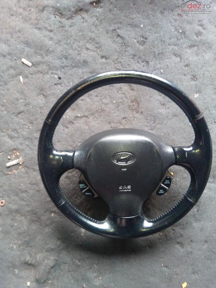 Volan Piele Complet Cu Airbag Hyundai Santa Fe Sm Comenzi Piese auto în Snagov, Ilfov Dezmembrari