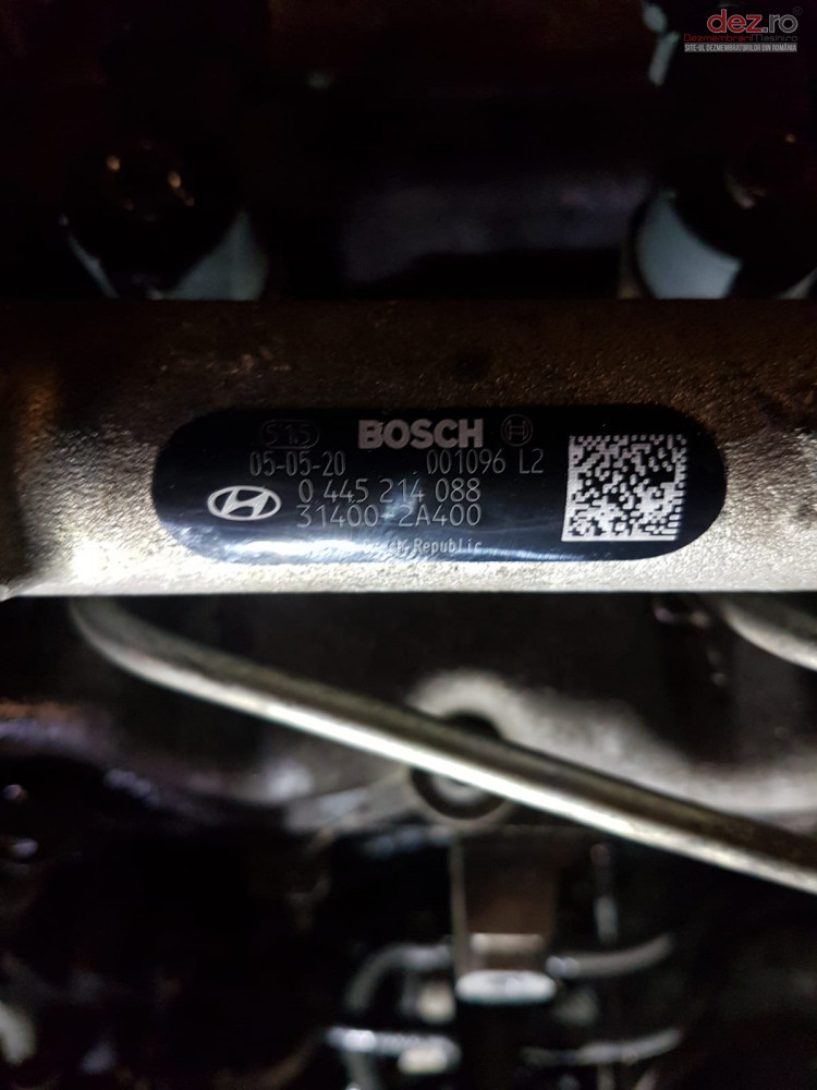 Rampa Injectoare Cu Regulator Hyundai 1 5 Crdi Cod 0445214088 Piese auto în Snagov, Ilfov Dezmembrari