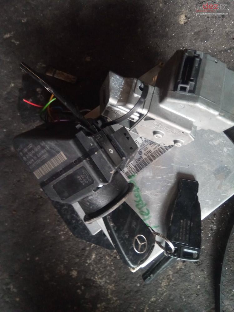 Contact Pornire Cu Cheie Mercedes S210 W210 W 202 Cod 2105450208 Butucul Are 3 Chei Dezmembrări auto în Snagov, Ilfov Dezmembrari