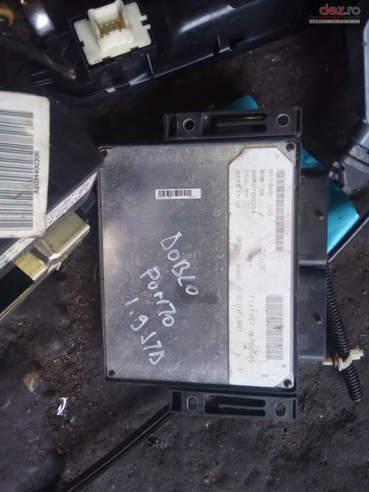 Calculator Motor Fiat 46760545 010259jsg 80873b R04010035a Piese auto în Snagov, Ilfov Dezmembrari