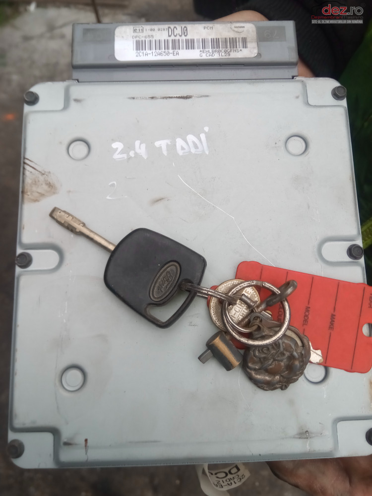 Calculator Ecu Kit Pornire Ford Transit 2 0 2 4 Tddi 2c1a 12a650 Ea Piese auto în Snagov, Ilfov Dezmembrari
