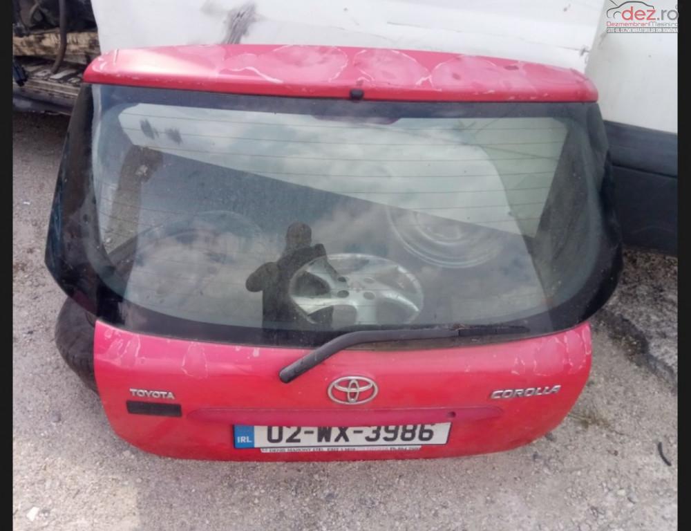 Hayon Complet Luneta Motoras Stergator Amortizor Hayon Toyota Corrola E12 E120 Dezmembrări auto în Snagov, Ilfov Dezmembrari