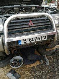 Bullbar Berbec Bulbar Inox Mitsubisi Pajero Sport Piese auto în Snagov, Ilfov Dezmembrari