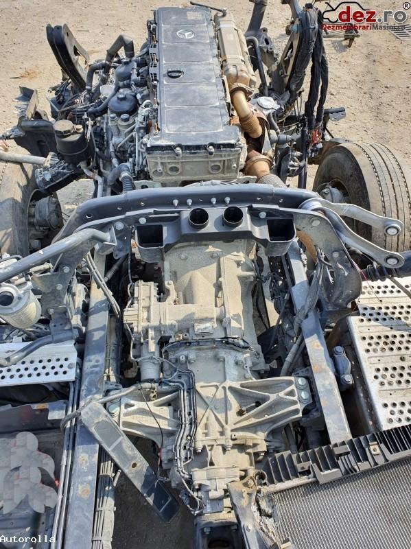 Motor complet Mercedes Actros an 2018, 320 000km , OM470LA Dezmembrări camioane în Vadu Pasii, Buzau Dezmembrari