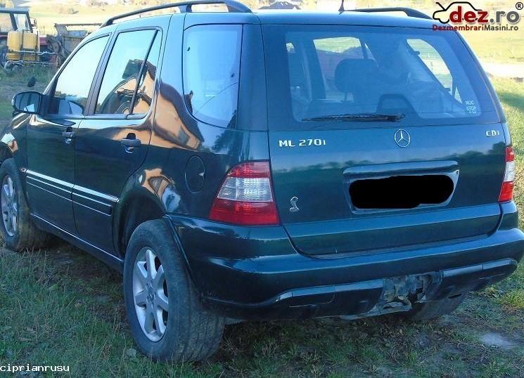 Dezmembrez Mercedes Ml270 W163 Dezmembrări auto în Vadu Pasii, Buzau Dezmembrari