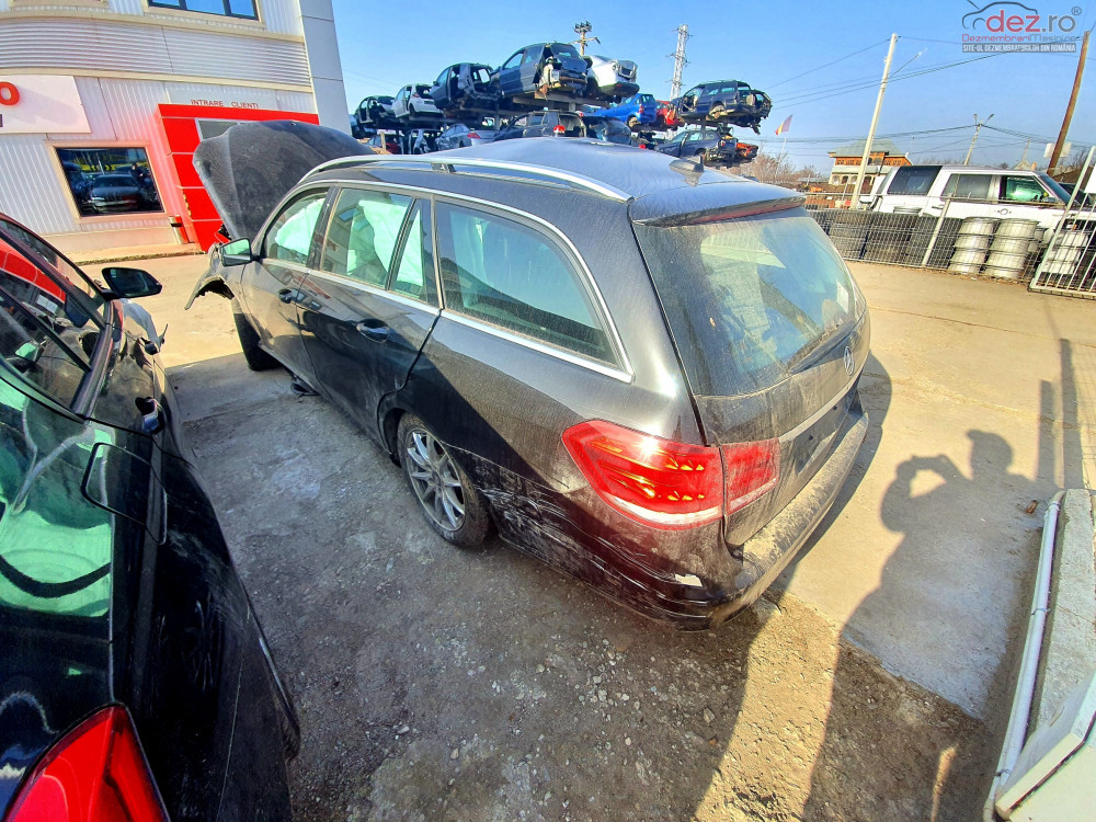 Dezmembrari Mercedes Eclass W212 Facelift 2 2cdi An 2016 Euro6 Dezmembrări auto în Vadu Pasii, Buzau Dezmembrari