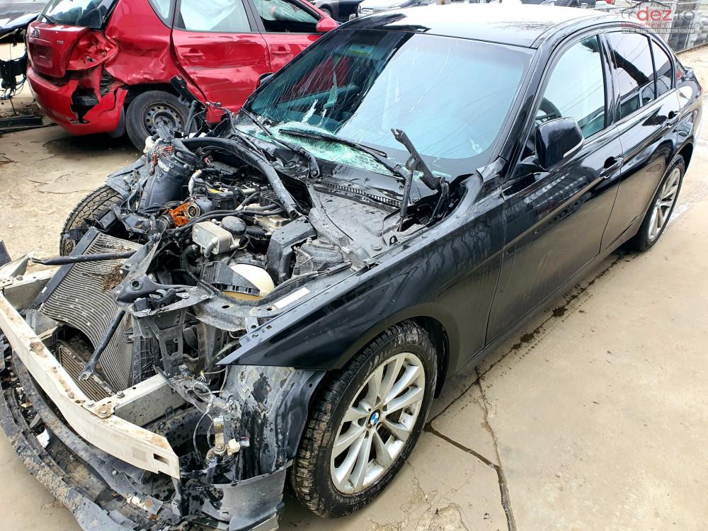 Vand BMW 320 F30 din 2016, avariat in fata
