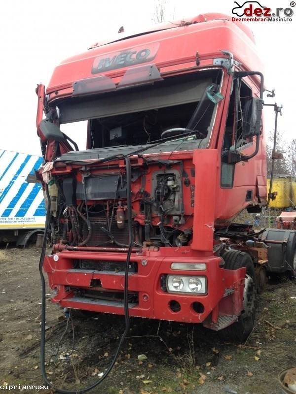 Dezmembrez Iveco Eurostar cursor 10 an fabricatie 2002  Dezmembrări camioane în Vadu Pasii, Buzau Dezmembrari