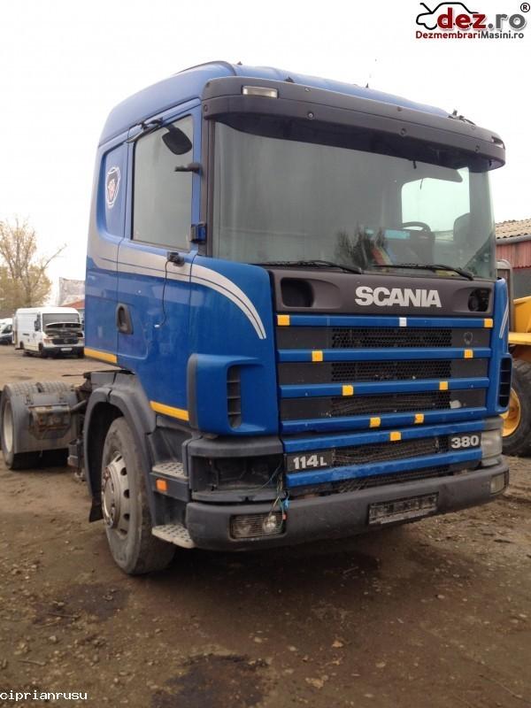 Dezmembrez Scania  380 CP Fabricatie 2002  Dezmembrări camioane în Vadu Pasii, Buzau Dezmembrari