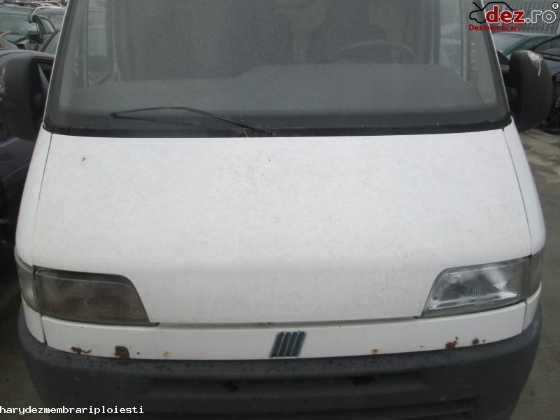 Vand capota motor pentru fiat ducato din 2001  motor 2 8 jtd tip 8140 435  faruri  Dezmembrări auto în Ploiesti, Prahova Dezmembrari