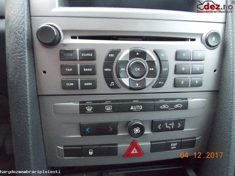 Sistem audio Peugeot 407 2004