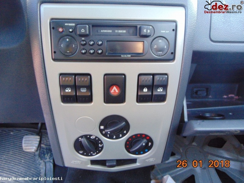 Sistem audio Dacia Logan 2005