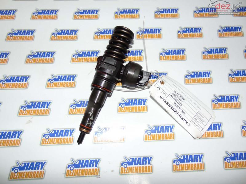 Injector Pentru Audi A4 B6 Cod Original 038130073an   Motor 1 9 Tdi Awx / 131 Cp /   An   Piese auto în Bucov, Prahova Dezmembrari