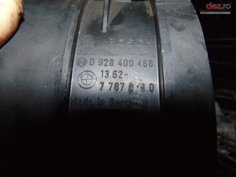 Debitmetru Avand Codul Original 0982400468 / 77870760   Pentru Bmw Seria 3  Piese auto în Bucov, Prahova Dezmembrari