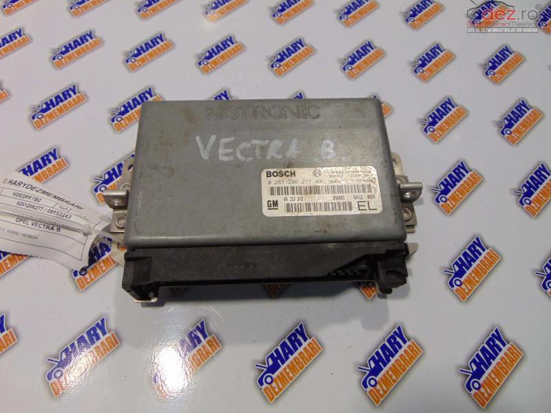 Calculator Motor Avand Codul Original 0261206277 / 09153243   Pentru Opel Vectra B  Piese auto în Bucov, Prahova Dezmembrari