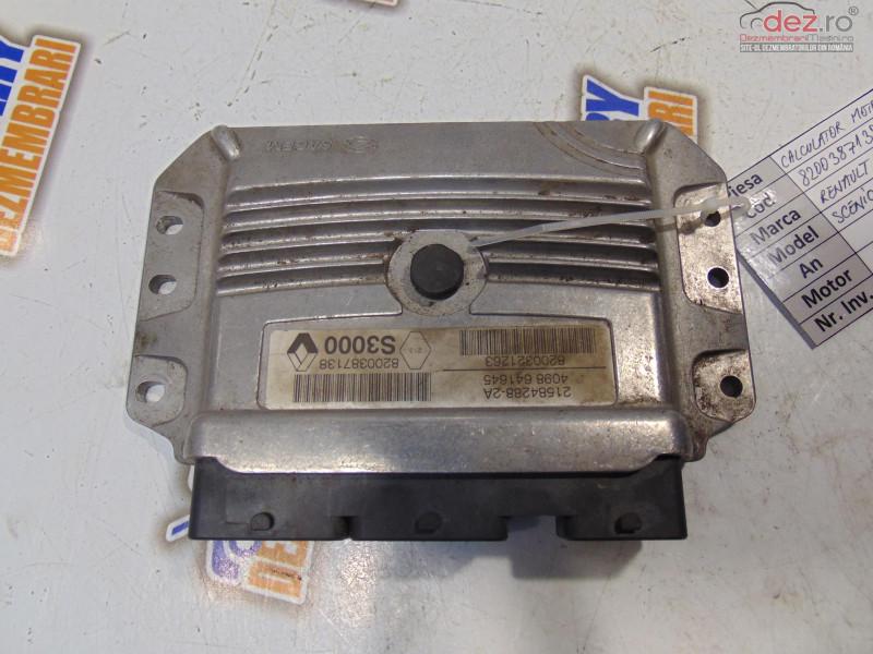 Calculator Motor Cu Codul 8200387138 Pentru Renault Scenic Ii 1 6i Piese auto în Bucov, Prahova Dezmembrari