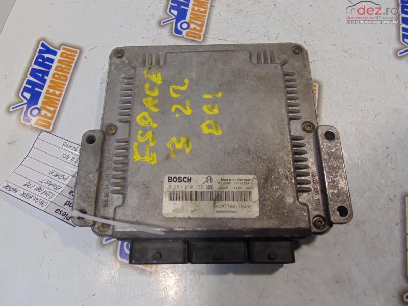 Calculator Motor Cu Codul 0281010178 Pentru Renault Espace 2 2dci Piese auto în Bucov, Prahova Dezmembrari