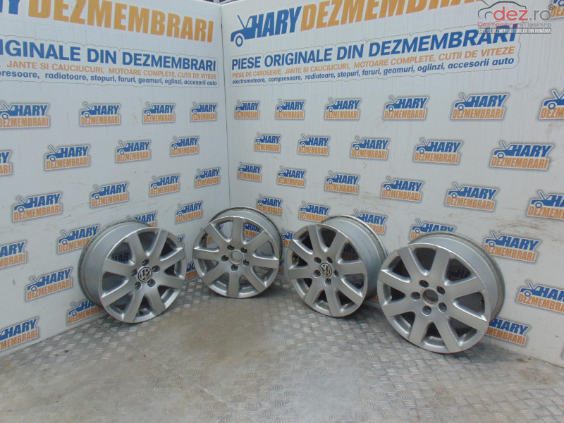 Set Jante Aliaj 16' Cu Codul 3c0601025f Pentru Gama Audi Vw Skoda Seat în Bucov, Prahova Dezmembrari