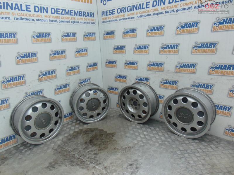 Set Jante Aliaj 15' Cu Codul 8l0601025e Pentru Gama Audi Vw Skoda Seat în Bucov, Prahova Dezmembrari