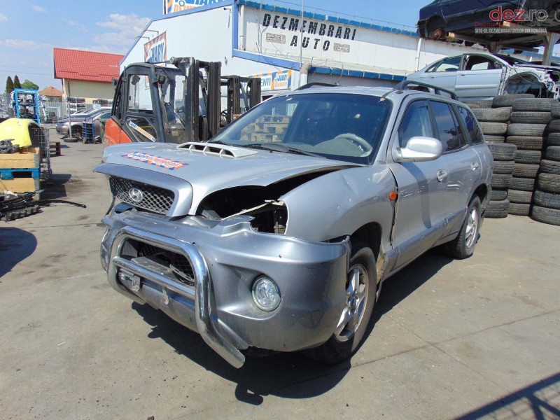Dezmembram Hyundai Santa Fe 2 0crdi Tip Motor D4hb Fabricatie 2002 Dezmembrări auto în Bucov, Prahova Dezmembrari