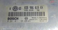 Calculator Motor Avand Codul Original 038906019kh / 0281011195 Pentru Vw Golf 4 Piese auto în Bucov, Prahova Dezmembrari