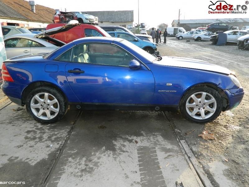 Dezmembrez Mercedes Slk 200 1996 2000 Dezmembrări auto în Prejmer, Brasov Dezmembrari